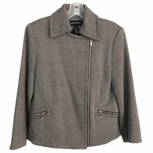 Club Monaco Boucle Moto Wool Jacket
